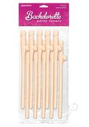 Bachelorette Party Favors Dicky Sipping Straws Flesh 10...